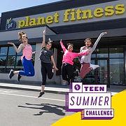 Kirsten Planet Fitness summer challenge.