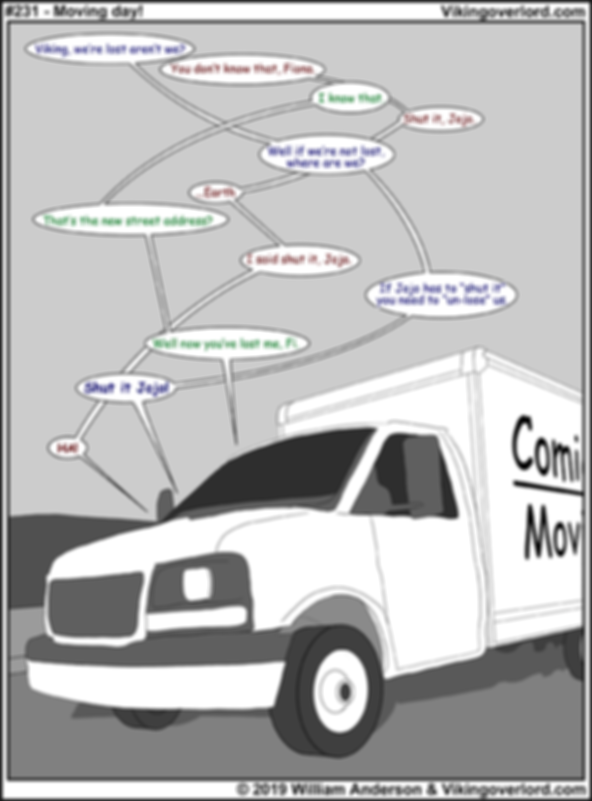 Comic Sans Moving Company