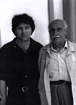 Con Domenico Spinosa