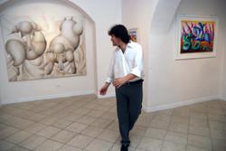 Alla personale all'Archetyp'Art Gallery, Termol, 2008
