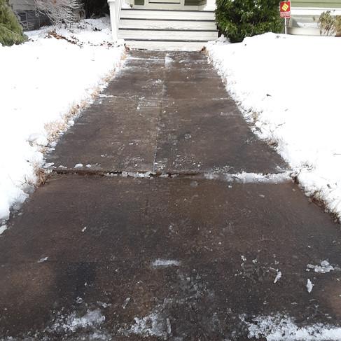 Matt Goldenberg - front walkway (after).