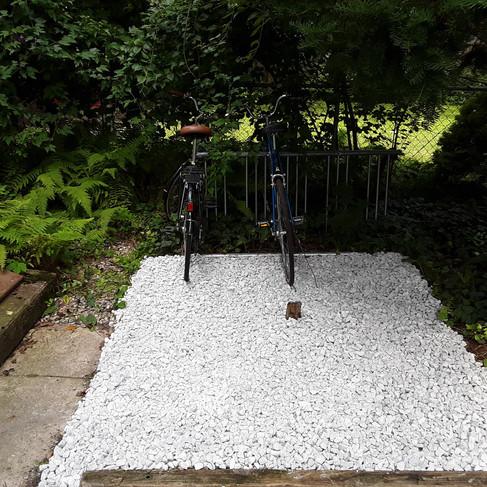 Bike Rack before