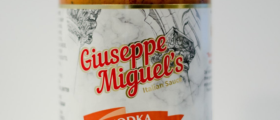Giuseppe's Vodka with Prosciutto Sauce