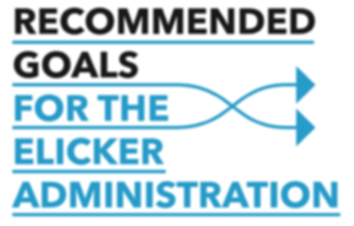 Recommended Goals for th Elicker Administration
