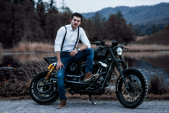 Portrait_Harley Davidson