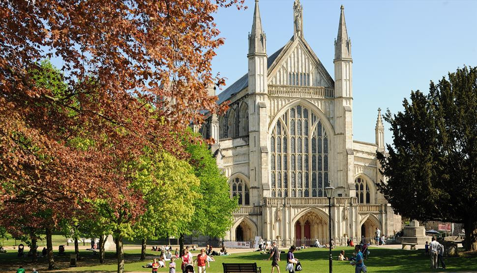 Winchester Cathedral, England, Churches, Jane Austen, Gothic Cathedral