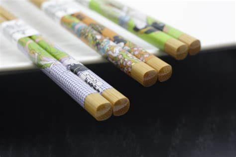 Eat with Bamboo - Chopsticks