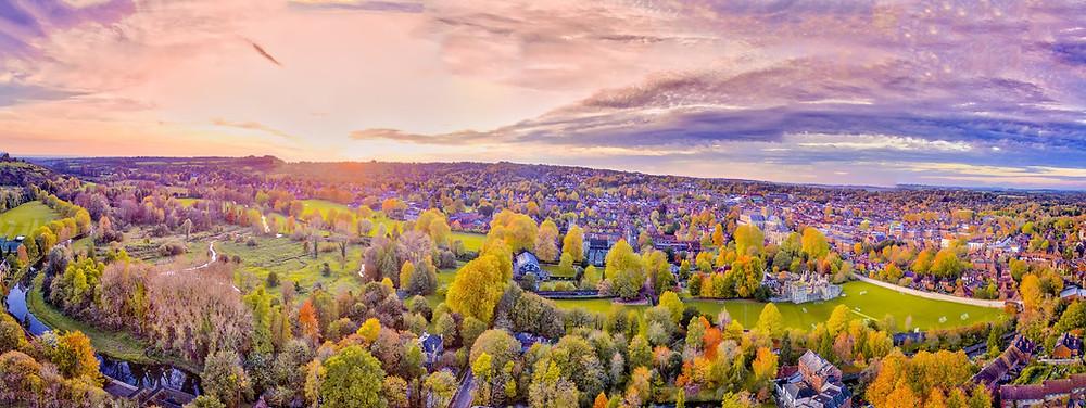 Winchester England, Winchester City, Winchester Cathedral, Winchester School