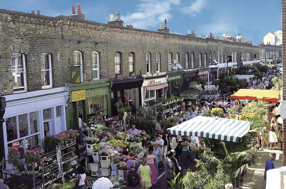 Sundays in London, Flower Market, London Market, Columbia Road Flower Market