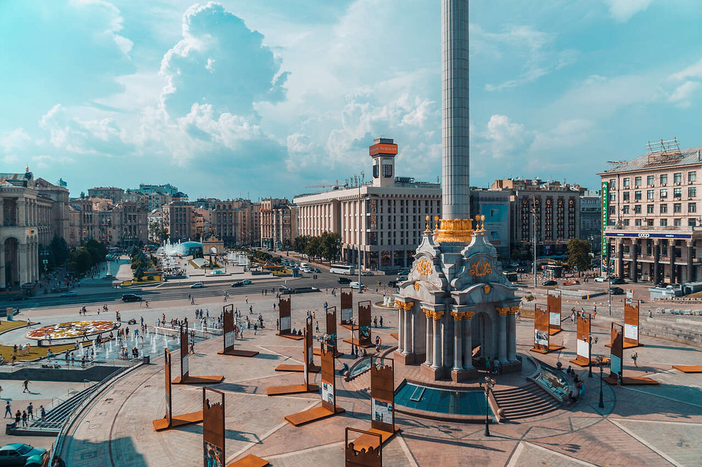 Beautiful Maidan Square Kyiv, Where to stay in Kyiv, Budget Travel Kyiv, Best places to stay in Kyiv, Where to stay in Kiev