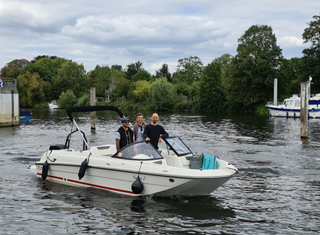 Boating on the River Thames