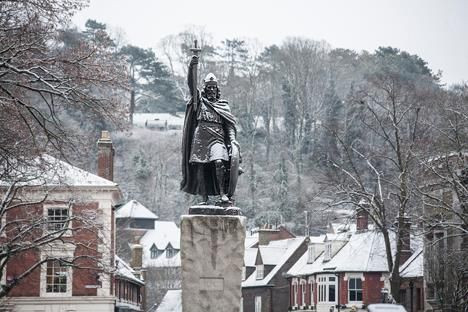 Winchester England, Winchester City, Alfred the Great, King Alfred of England