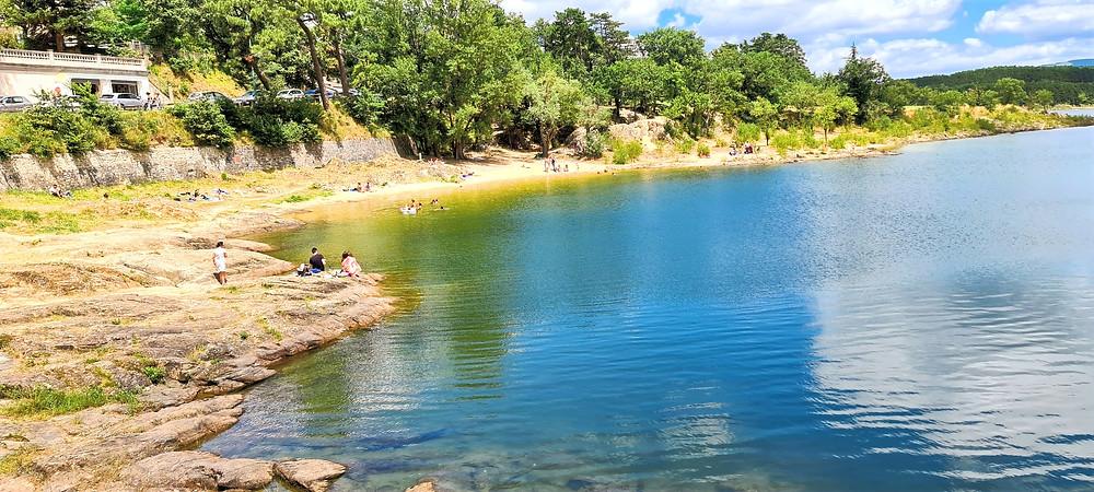 Saint-Ferréol Lake, Alex van Terheyden, Soreze, French Lake, French Countryside