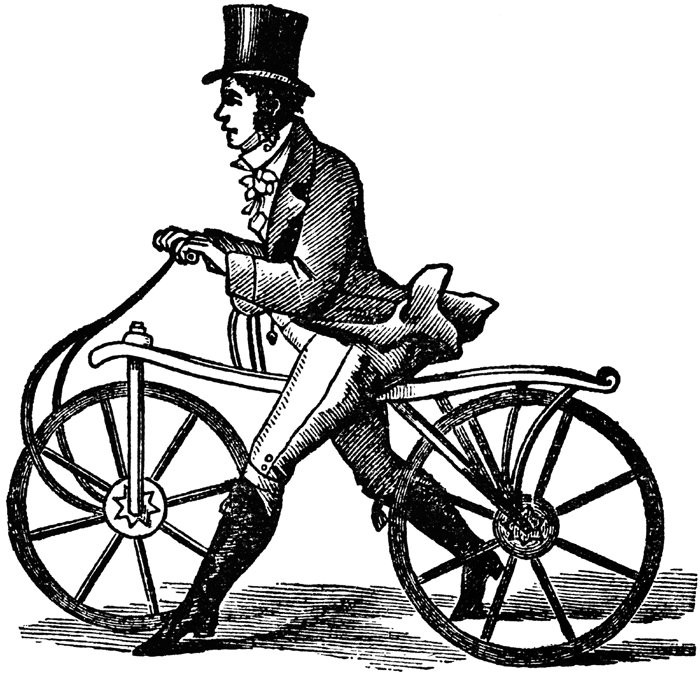 Dandy Horse, First Bike Ever, When Was the bike invented