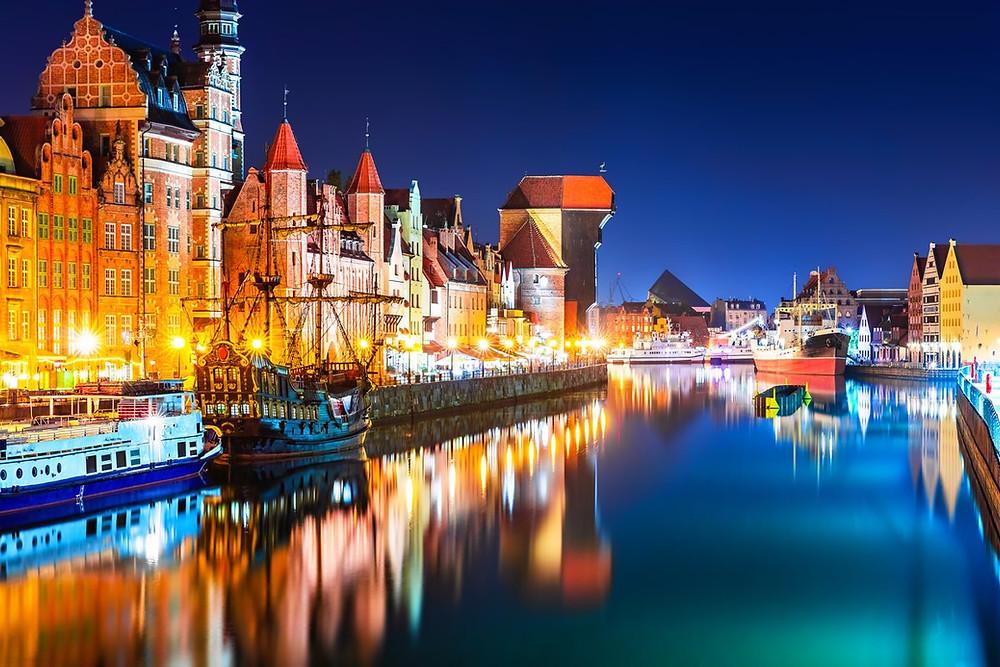 Gdansk Poland, Gdansk Crane, Gdansk Sights, Poland