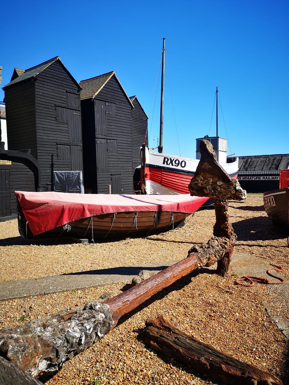 Hasting Fishing Net Sheds, Wooden Sheds