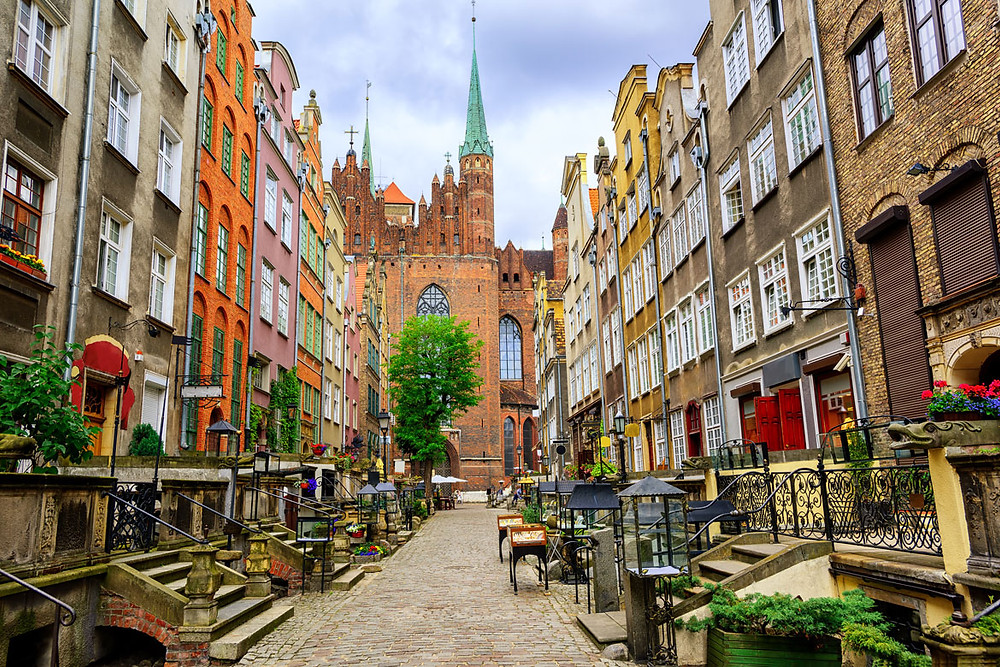 mariacka street gdansk, Gdansk, Poland