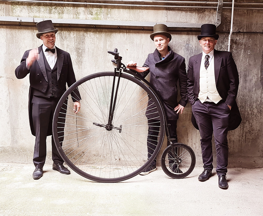 The Penny-Farthing Club London, Riding a Penny-Farthing, Riding a Big Wheel, London Tour, Airbnb Experience