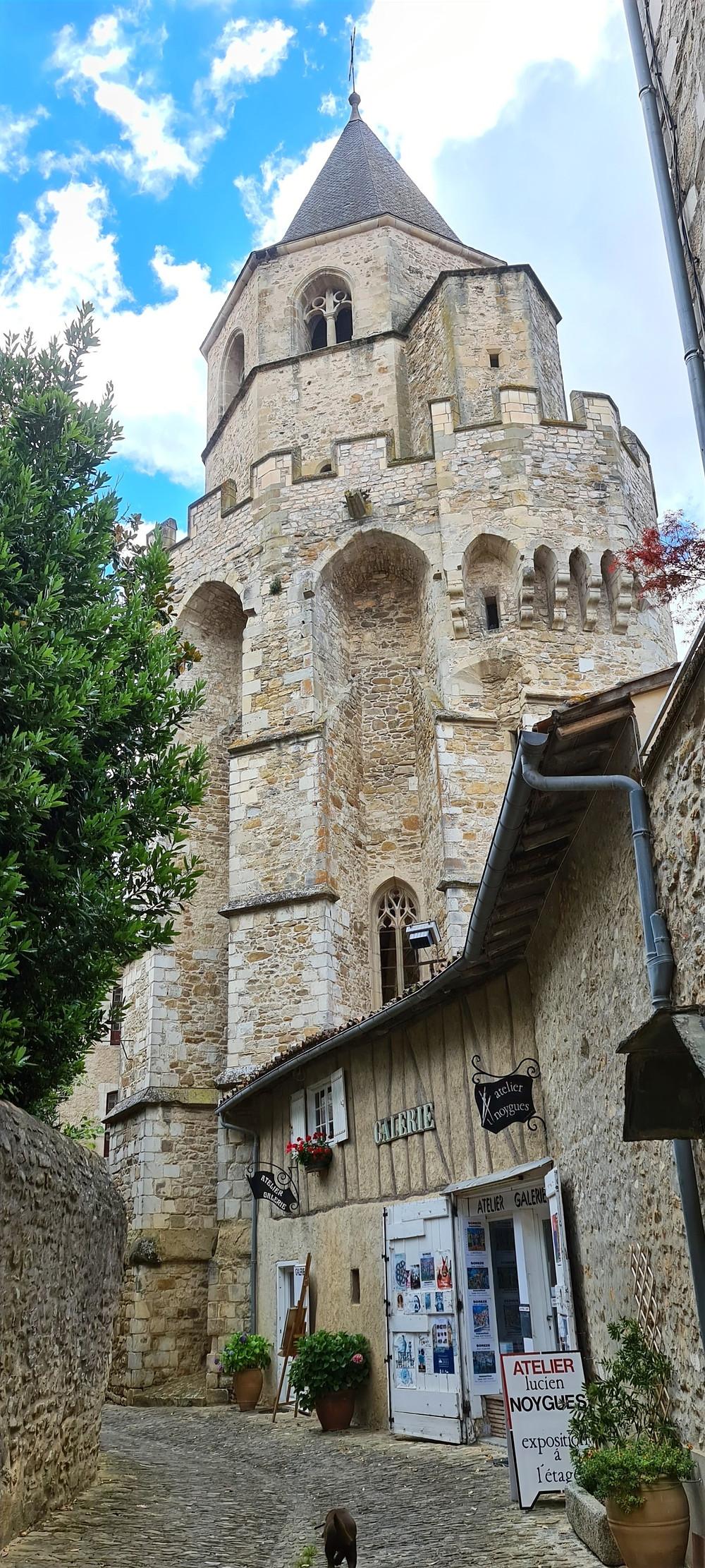 Saint Martin Tower, France, French Town, Church, Protestant Church, Catholic Church