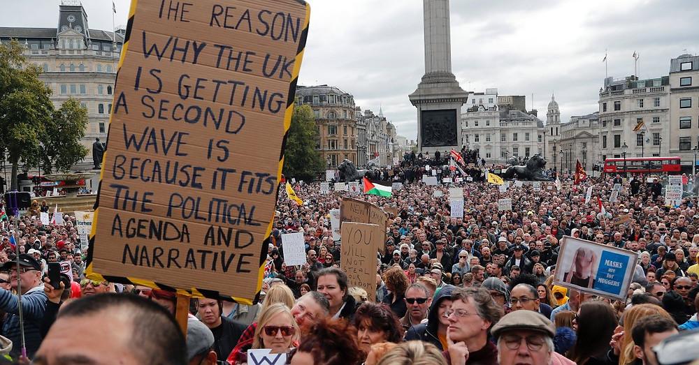 Plandemic, Pandemic, Covid-19, London Anti-Lockdown Protest