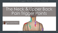 The Neck Pain trigger points video