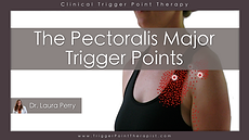 The Pectoralis Major trigger points video.