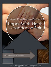Trigger Point Therapy for Neck Pain Video.