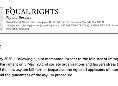 Press release: 20 Organizations call for the enactment of provisions jeopardizing fundamental rights