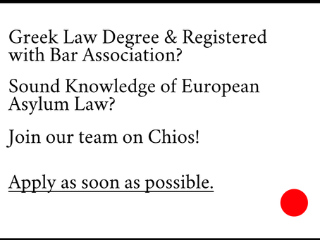 Vacancy: Greek Lawyer on Chios