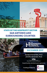 2017 State of the Nonprofit Sector report