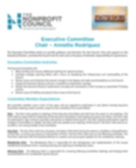 TNC Executive Committee description