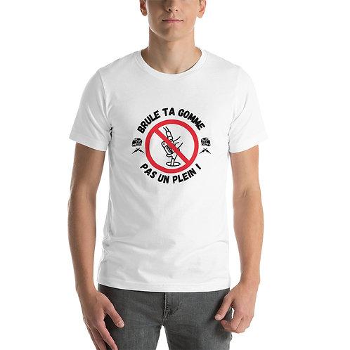 """T-shirt """"plein"""" - Unisexe à Manches Courtes"""