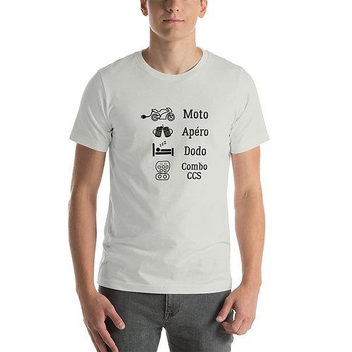 """T-shirt """"combo ccs"""" - Unisexe à Manches Courtes"""