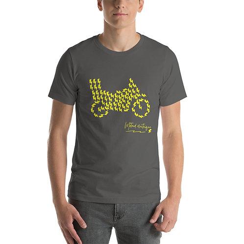 """T-shirt """"Eclaire de trial"""" - Unisexe à Manches Courtes"""