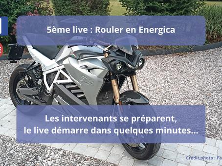 SR/F puis Energica : Le live où Pascal nous explique son choix de changement de crèmerie.