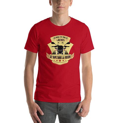 """T-shirt """"Tape dans la regen"""" - Unisexe à Manches Courtes copie copie"""