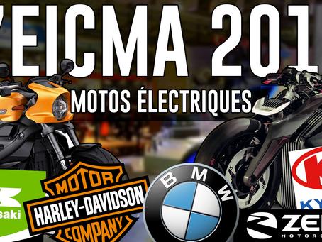 L'EICMA 2019 tout électrique.