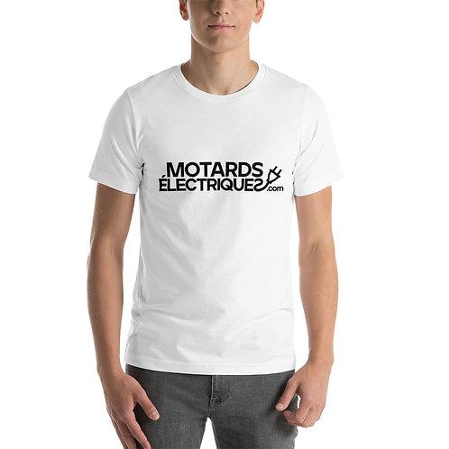 T-shirt Motards électriques.com - Unisexe à Manches Courtes