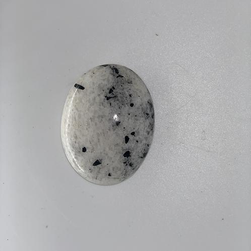 Smooth-Polished Black & White Granite (Speckled)