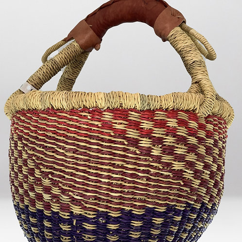 Handcrafted African Basket