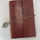 Thumbnail: Red Leather Cover Loose Leaf Blank Journal
