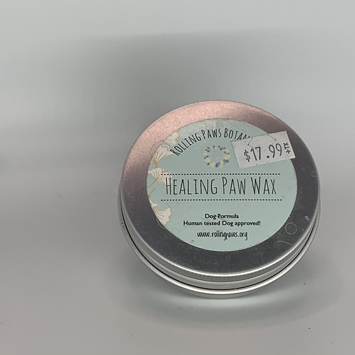 Rolling Paws Botanicals: Healing Paw Wax (CBD Salve for Dogs) 2 oz