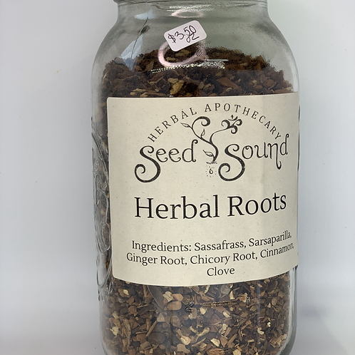 Herbal Roots Tea Blend 1oz