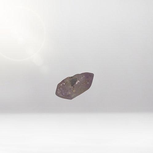 Minerals - White & Violet Crystal