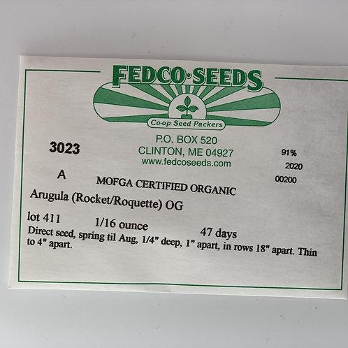 Arugula (Roquette/ Rocket) Seeds