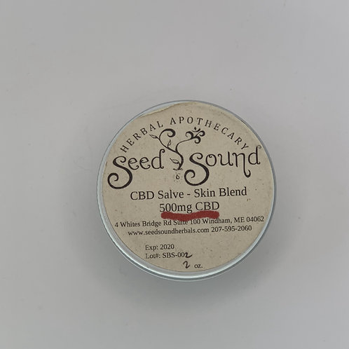 CBD Salve  Skin Blend 250 mg, 500 mg