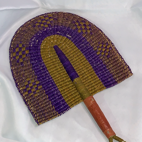 Handcrafted African Fan Blade