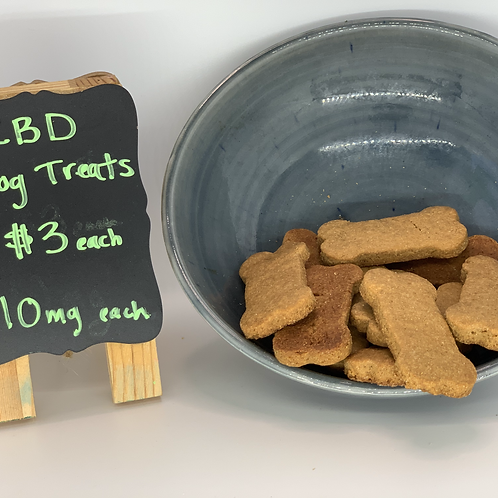 Rolling Paws Botanicals: CBD Dog Treats 10 mg