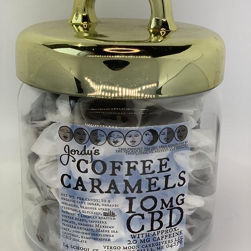 Jordy's CBD Caramels - Coffee - 10 mg