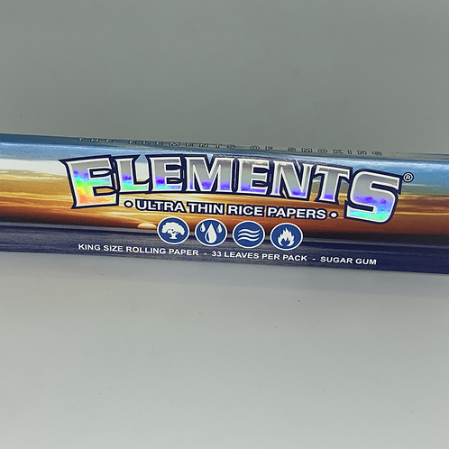 ELEMENTS Rolling Papers: King Size
